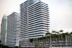 4 здания пляжа южного Стоковая Фотография RF