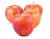 4 зрелых красных яблока Стоковая Фотография RF