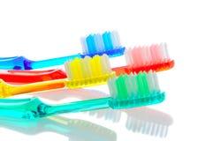 4 зубной щетки Стоковая Фотография RF