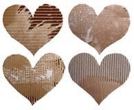 4 изолированного сердца Стоковое фото RF