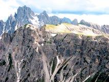 4 итальянских горы Стоковое Изображение RF