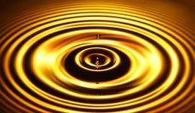 4 кольца золота Стоковые Изображения