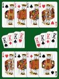 4 короля Стоковые Изображения