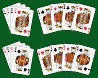 4 короля Стоковая Фотография RF