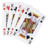 4 короля Стоковое Изображение RF
