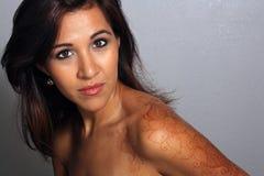4 красивейшее headshot latina Стоковое Изображение