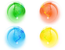 4 краски бесплатная иллюстрация
