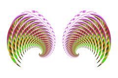 4 крыла фе птицы ангела Стоковое Фото