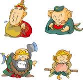 4 монаха Стоковая Фотография RF