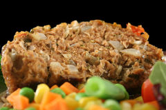 4 овоща meatloaf Стоковые Фотографии RF