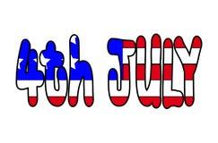 4-ое июля 2 Стоковые Фото