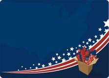 4-ое торжество июль бесплатная иллюстрация