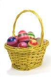 4 пасхального яйца корзины Стоковое Фото