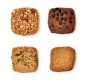 4 печенья Стоковое Фото