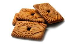 4 печенья Стоковое фото RF