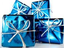 4 подарка на рождество стоковое фото rf