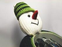 4 подарка укомплектовывают личным составом снежок Стоковое Фото