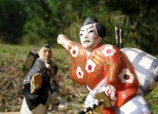 4 самурая Стоковая Фотография