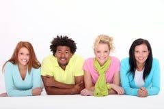 4 свежих детеныша людей Стоковое Изображение RF