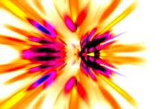 4 светлых свирли Стоковое фото RF