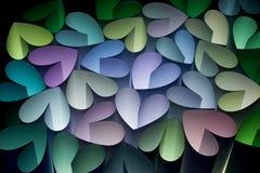 4 сердца Стоковое Фото