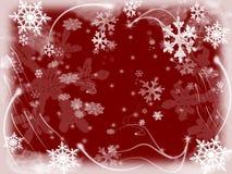 4 снежинки Стоковые Фотографии RF