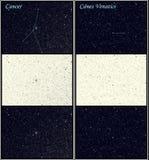 4 созвездия иллюстрация штока