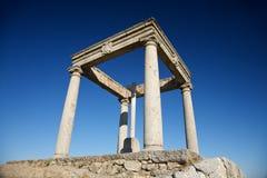 4 столба памятника Стоковые Фото