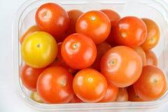 4 томата вишни Стоковое Фото