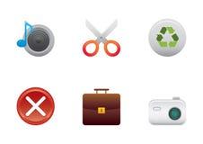 4 установленной иконы цвета