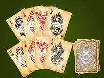 4 ферзя пар королей Стоковая Фотография