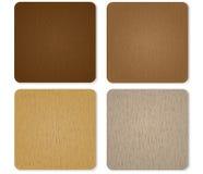 4 цвета подписывают деревянное Стоковая Фотография RF