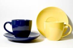 4 чашки стоковая фотография