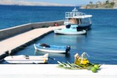 4 чувствуя среднеземноморск Стоковые Изображения