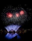 4-ый из феиэрверков в июле Стоковое Фото