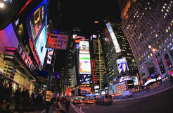 4 11月2008日nyc正方形倍 库存图片