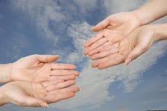 рука 4 Стоковое Фото