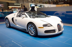 4 16 bugatti grand sport veyron στοκ φωτογραφία με δικαίωμα ελεύθερης χρήσης