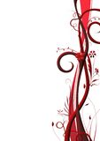 A/4 2 florais Imagem de Stock