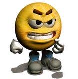 4 20愤怒的微笑 免版税图库摄影