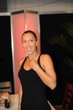 4 2009个杯子海伦娜jankovic罗杰斯 免版税库存图片