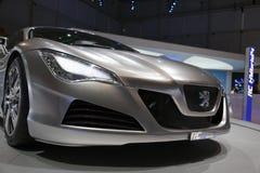 4 2009 expositions hybrides de rc de Peugeot de moteur de Genève Image stock