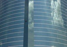 4块玻璃天空 库存图片