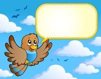 4只鸟图象主题 免版税库存照片