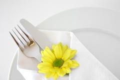 4餐位餐具 免版税库存图片