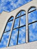 4玻璃反映 免版税库存图片