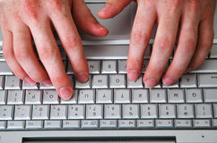 4计算机人 免版税库存图片
