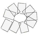 4 5 кадра x Стоковые Изображения