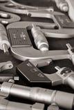 4-5 micrômetro Foto de Stock Royalty Free