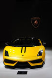 4 570 gallardo lp performante spyder 免版税库存照片